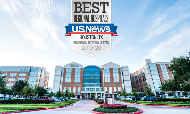 Houston Methodist Sugar Land Hospital Ranked Top Hospital